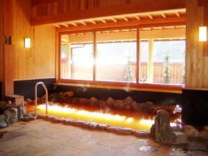 オゾンキューブブラック 使用風景 加田の湯様